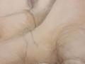 craie et crayon sur fond teinté