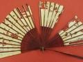 2 sur 4, Eventail asiatique du 18ème siècle (verso) avant restauration.JPG