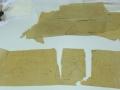1 sur 2, plan sur papier imprégné avant restauration.JPG